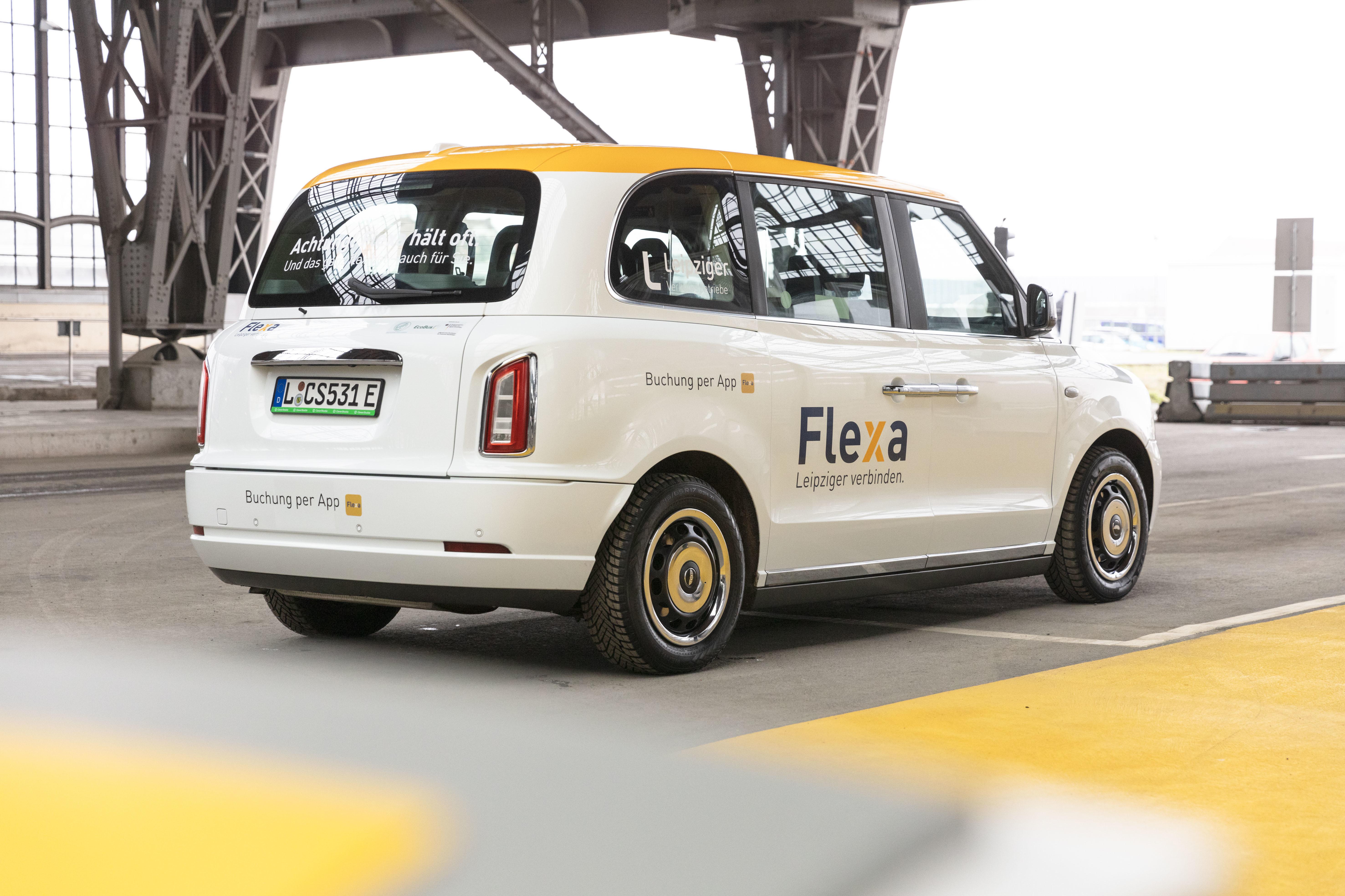 Flexa-Shuttle © Leipziger Gruppe